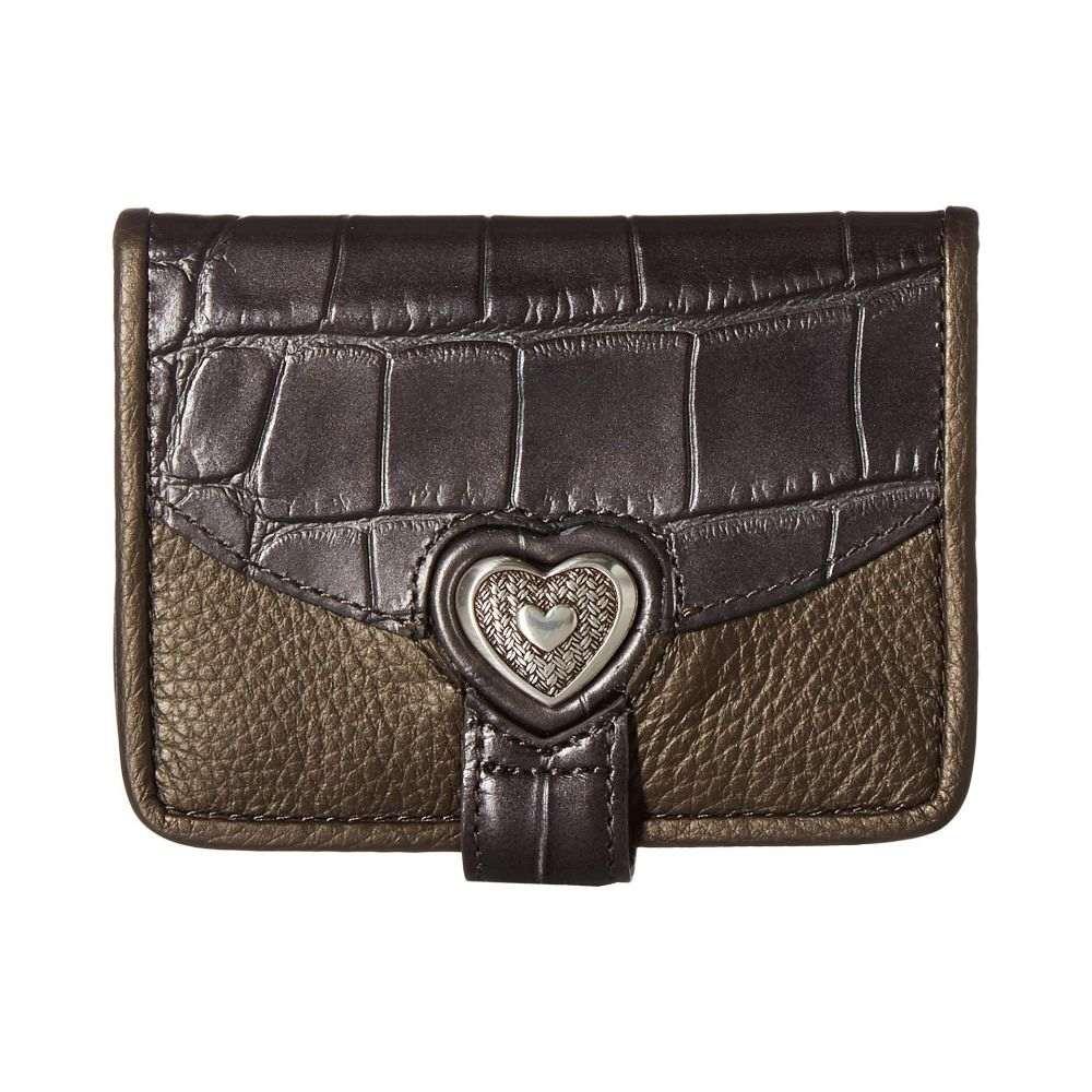 ブライトン Brighton レディース 財布 【Bellisimo Heart Small Wallet】Pewter