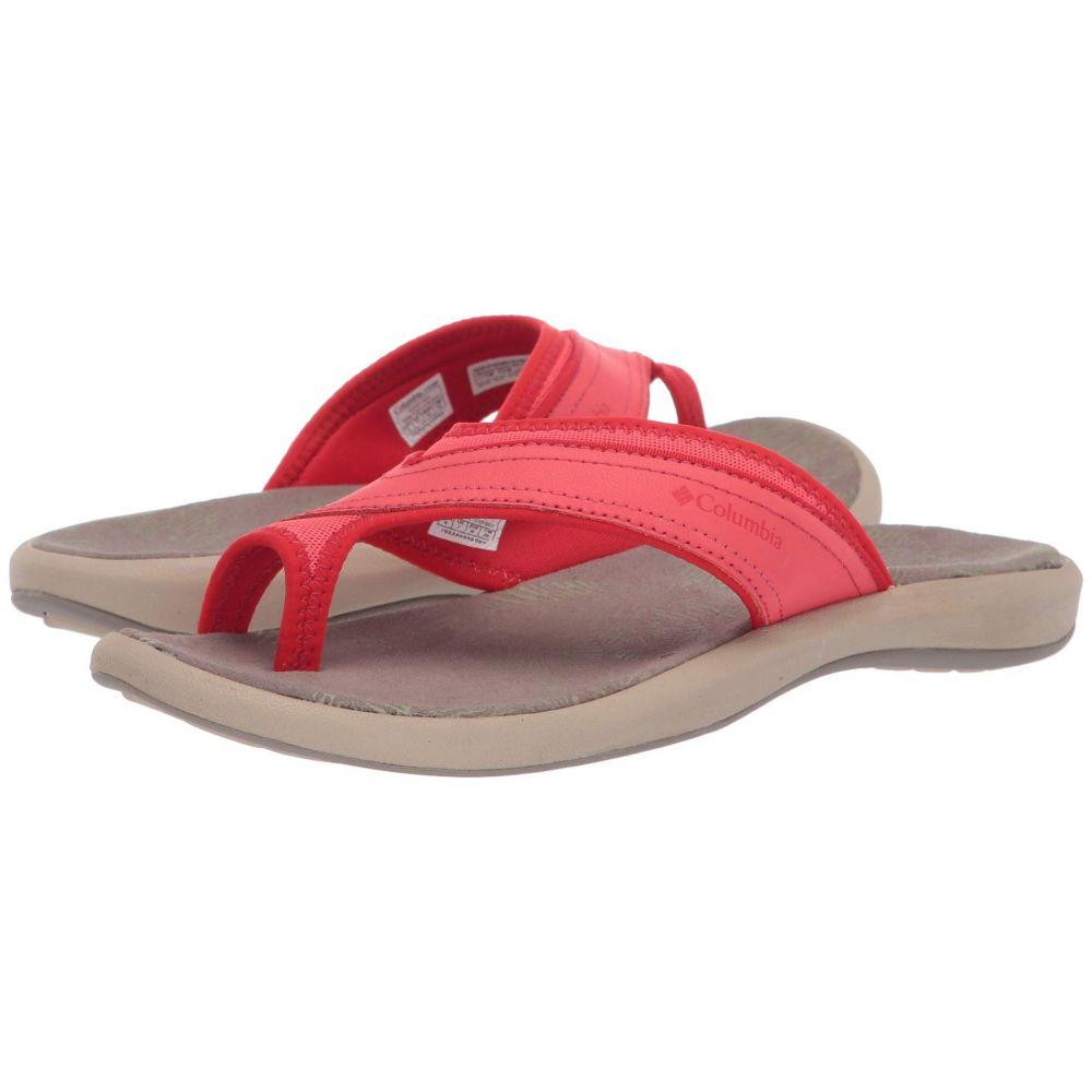 コロンビア Columbia レディース ビーチサンダル シューズ・靴【Kea(TM) II】Red Coral/Cherrybomb