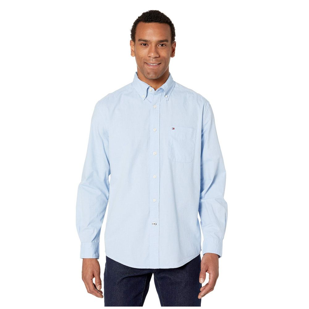 トミー ヒルフィガー Tommy Hilfiger メンズ シャツ トップス【Capote Button Down Shirt Classic Fit】Collection Blue