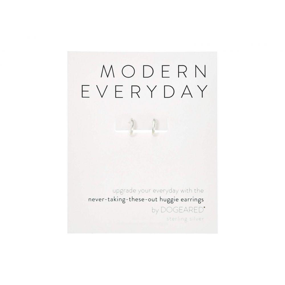 ドギャード Dogeared レディース イヤリング・ピアス ジュエリー・アクセサリー【Modern Everyday, Huggie Earrings】Sterling Silver