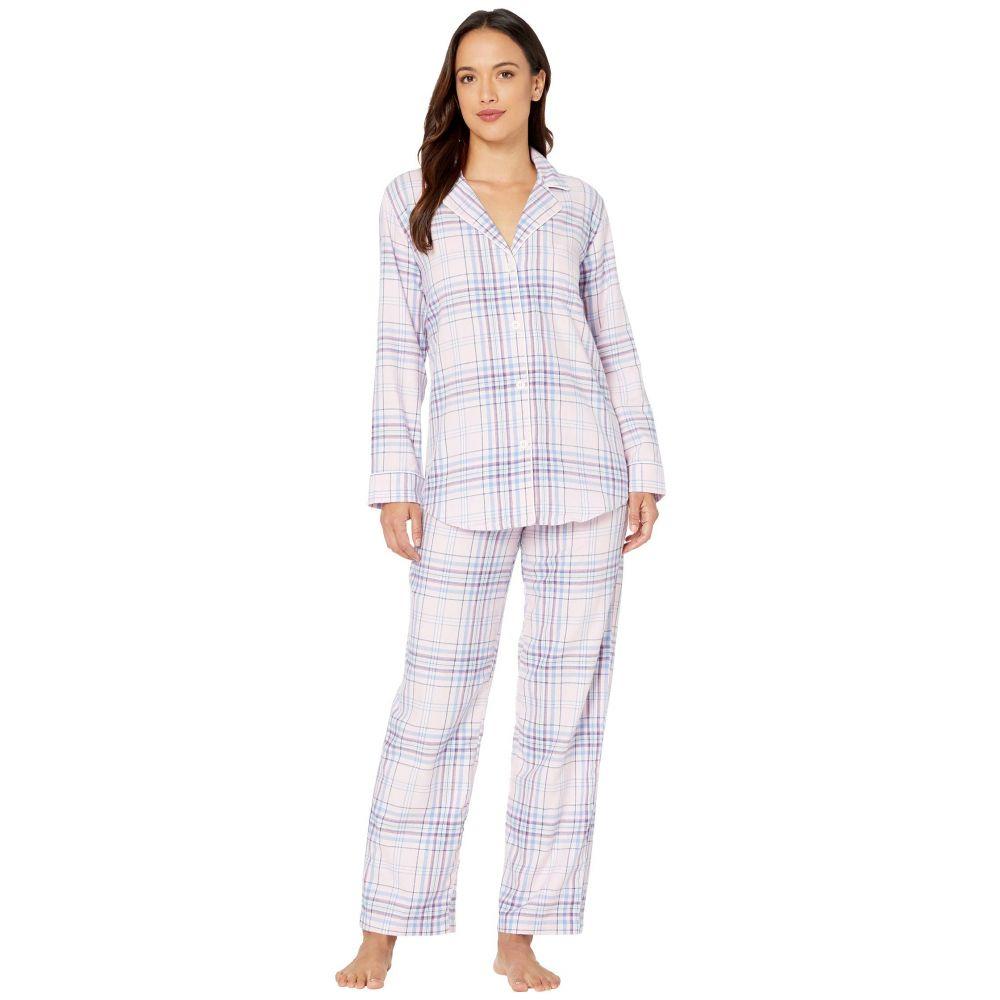ラルフ ローレン LAUREN Ralph Lauren レディース パジャマ・上下セット インナー・下着【Petite Classic Wovens Long Sleeve Pointed Notch Collar Long Pants Pajama Set】Multi Plaid