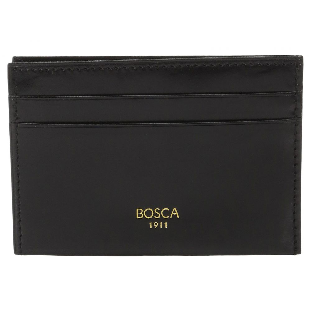 ボスカ Bosca メンズ 財布 【Old Leather Collection - Weekend Wallet】Black Leather