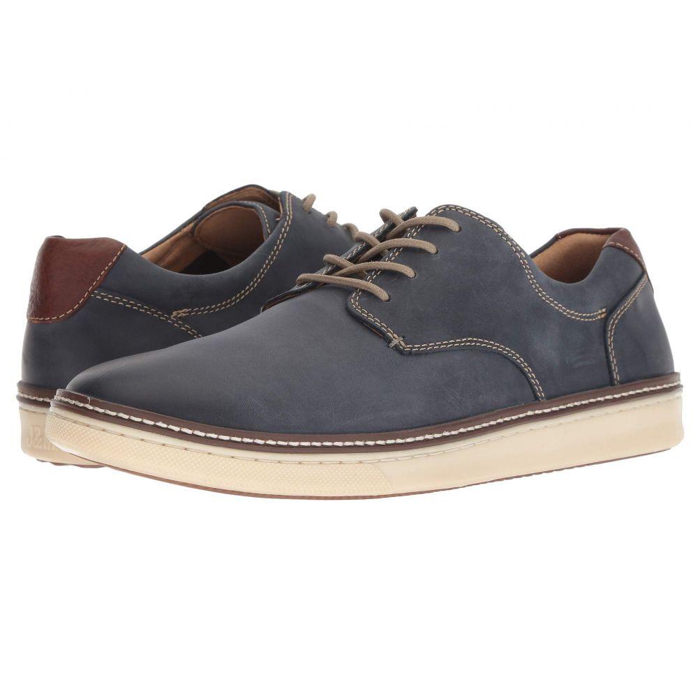 ジョンストン&マーフィー Johnston & Murphy メンズ スニーカー シューズ・靴【McGuffey Casual Plain Toe Sneaker】Navy Nubuck