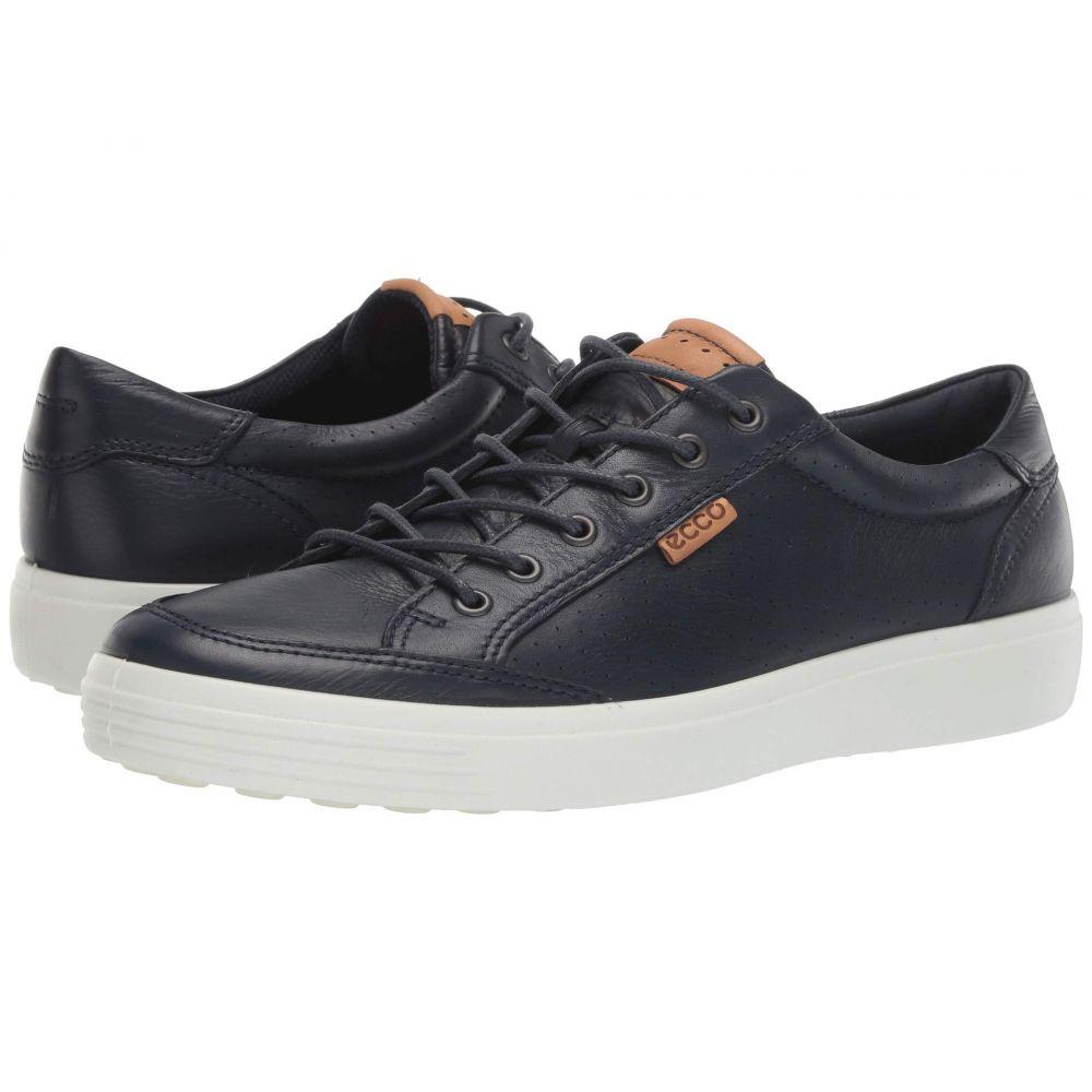 エコー ECCO メンズ スニーカー シューズ・靴【Soft 7 Light Sneaker】Marine