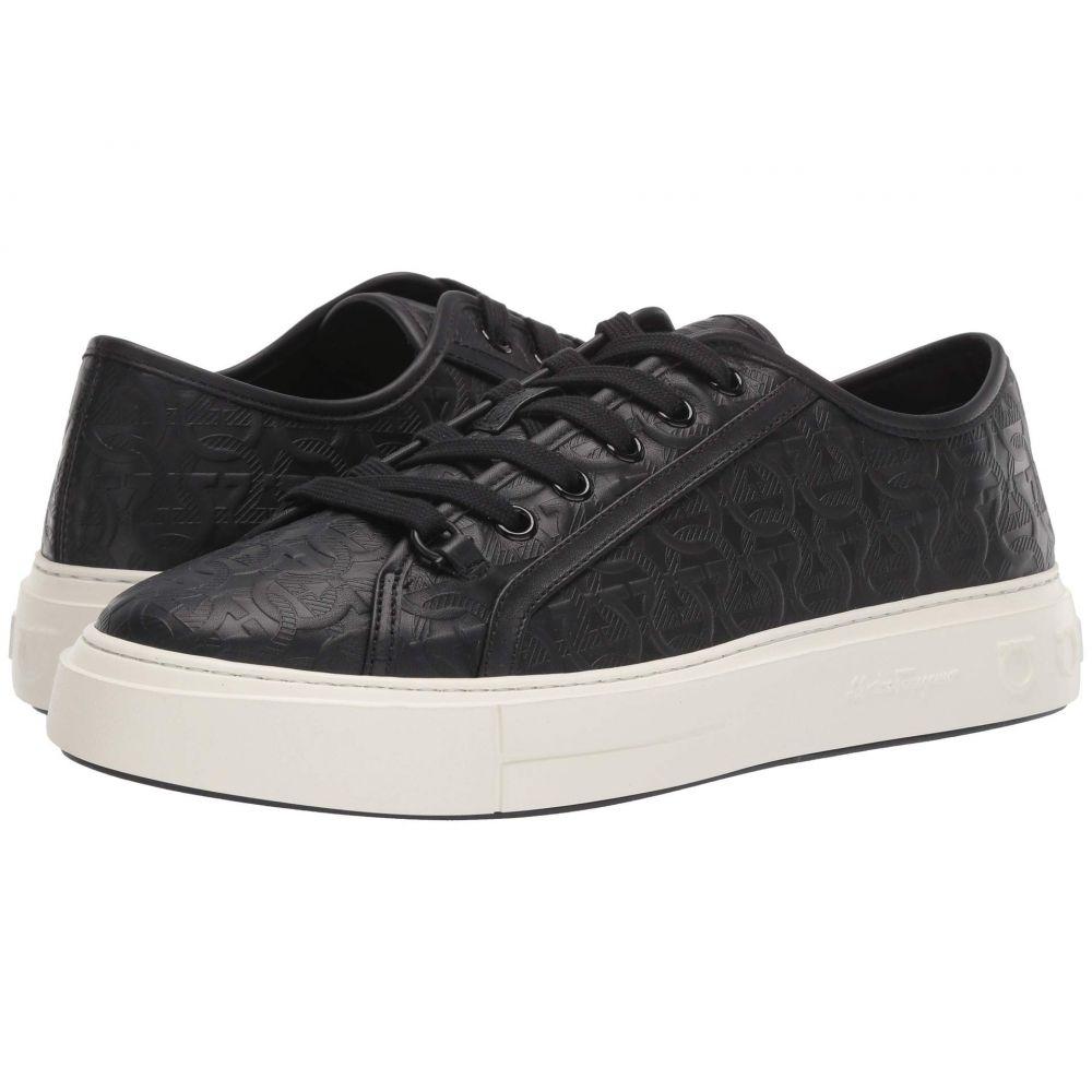 サルヴァトーレ フェラガモ Salvatore Ferragamo メンズ スニーカー シューズ・靴【Anson 2 Sneaker】Black
