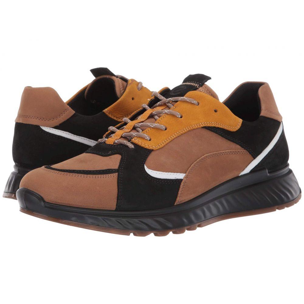 エコー ECCO メンズ スニーカー シューズ・靴【ST1 Trend Sneaker】Camel/Black/White/Oak