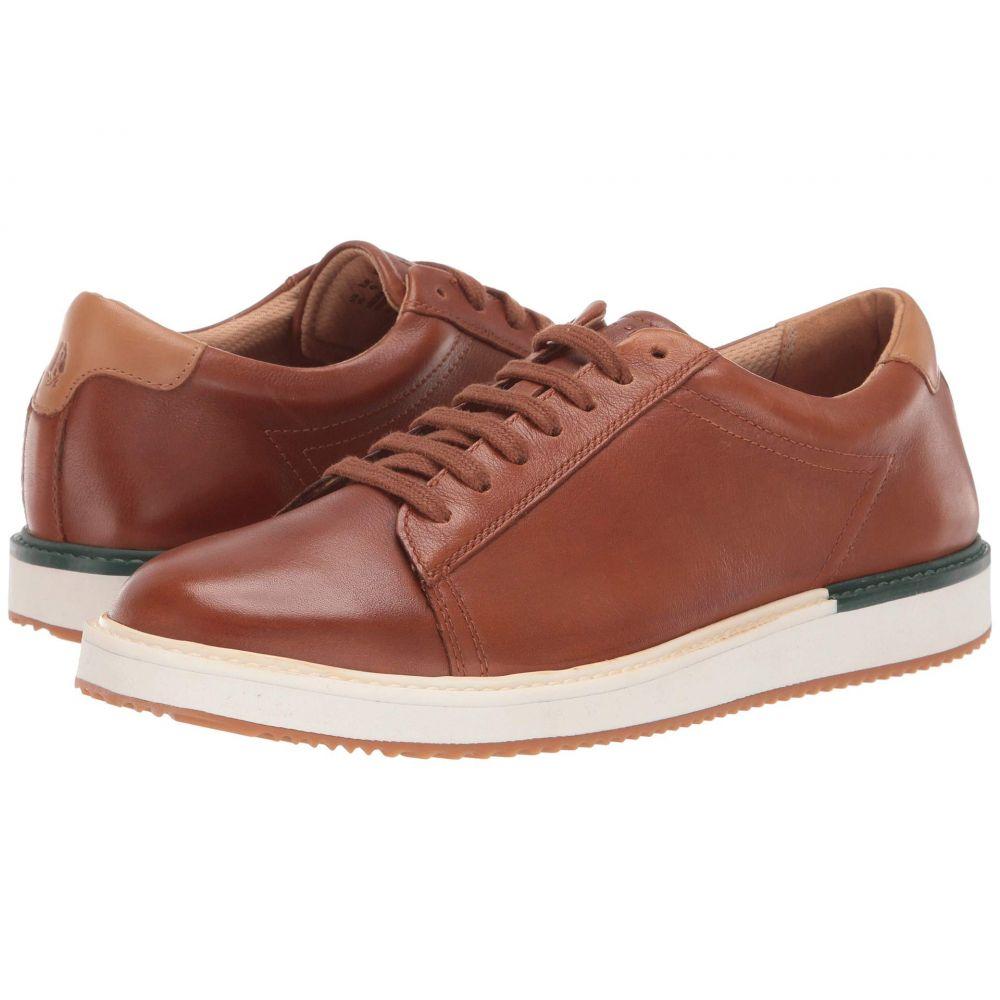 ハッシュパピー Hush Puppies メンズ スニーカー シューズ・靴【Heath Sneaker】Cognac Leather