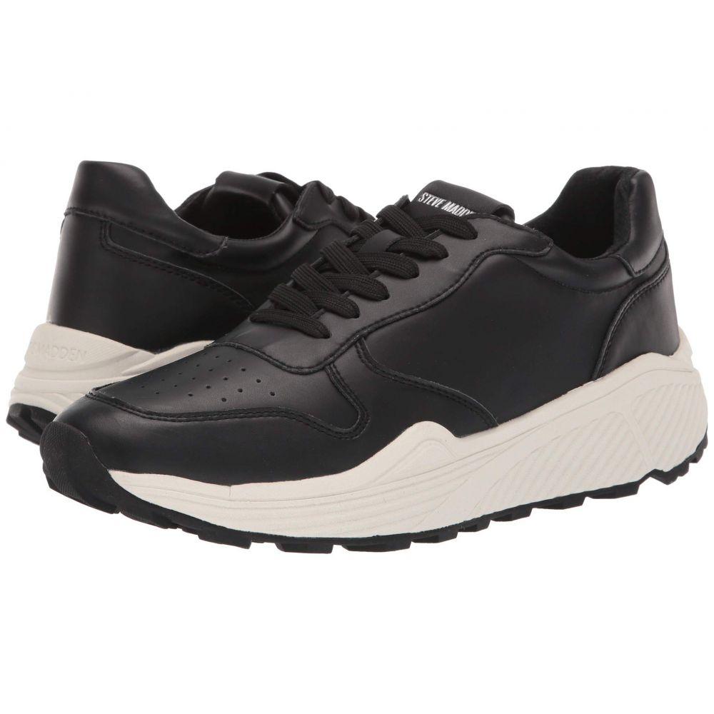 スティーブ マデン Steve Madden メンズ スニーカー シューズ・靴【Sardan Sneaker】Black Leather