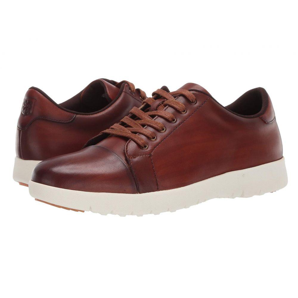ステイシー アダムス Stacy Adams メンズ スニーカー シューズ・靴【Hawkins Cap Toe Sneaker】Cognac