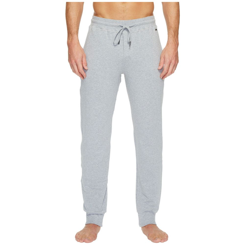ハンロ Hanro メンズ パジャマ・ボトムのみ インナー・下着【Living Lounge Pants】Grey Melange