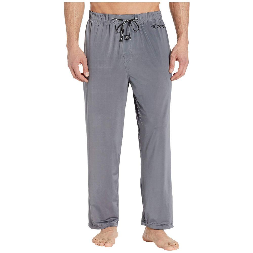 ステイシー アダムス Stacy Adams メンズ パジャマ・ボトムのみ インナー・下着【Regular Sleep Pants】Gray