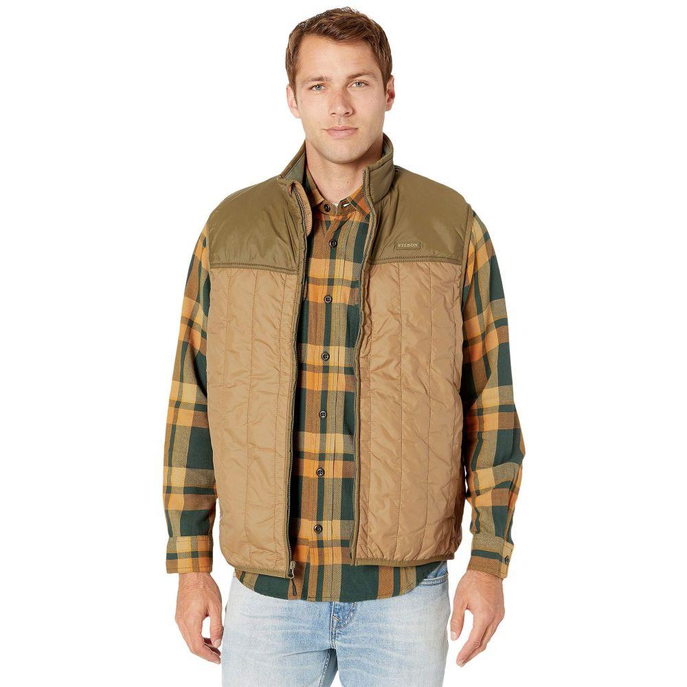 フィルソン Filson メンズ ベスト・ジレ トップス【Ultralight Vest】Dark Tan