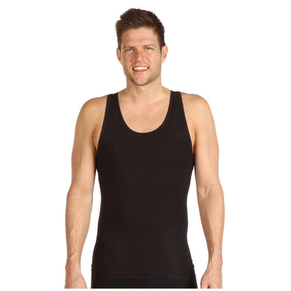 スパンクス Spanx for Men メンズ タンクトップ トップス【Cotton Compression Tank】Black