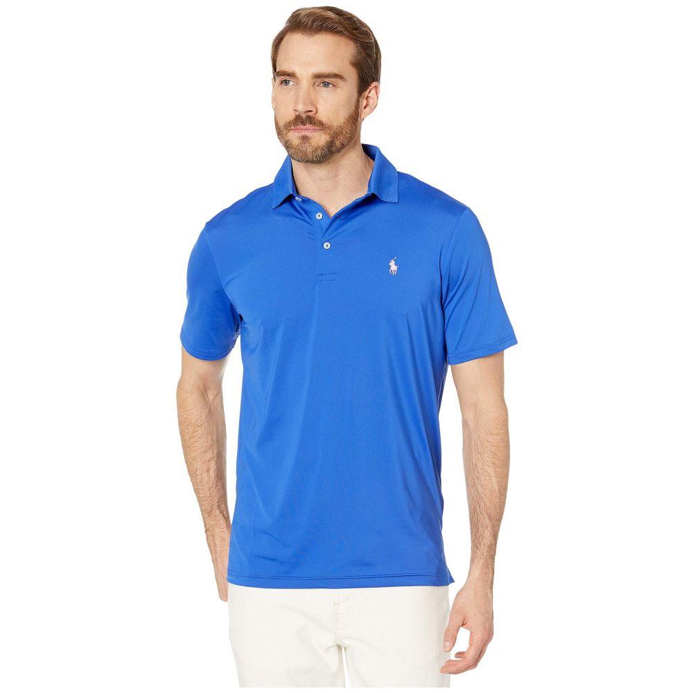 ラルフ ローレン Polo Ralph Lauren メンズ ポロシャツ 半袖 トップス【Short Sleeve Performance Polo】Travel Blue