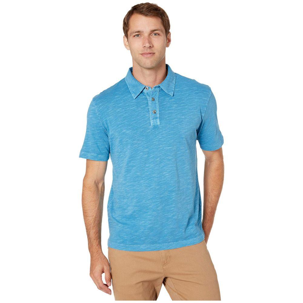 モドオードック Mod-o-doc メンズ ポロシャツ 半袖 トップス【Zuma Short Sleeve Polo】Blue Blood