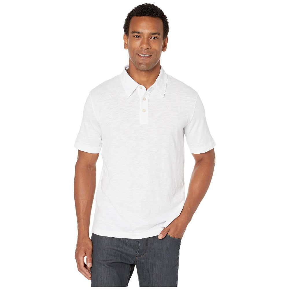 モドオードック Mod-o-doc メンズ ポロシャツ 半袖 トップス【Zuma Short Sleeve Polo】White