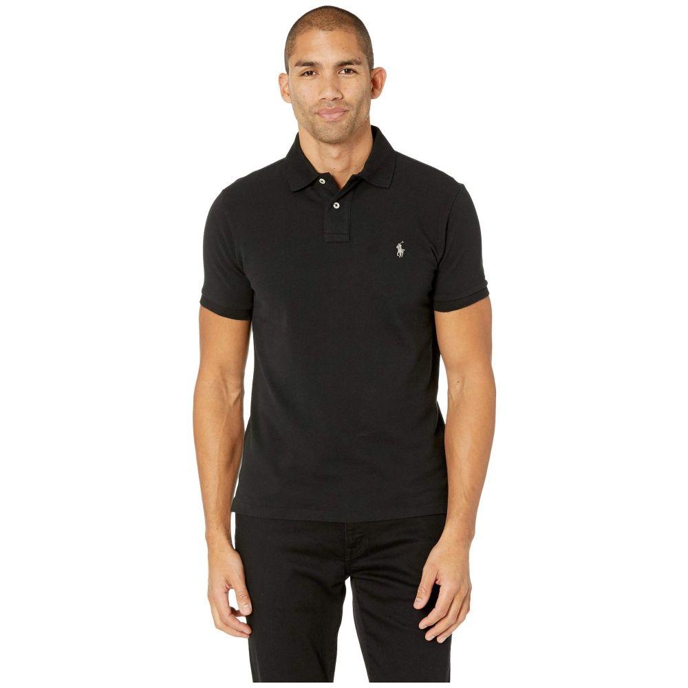 ラルフ ローレン Polo Ralph Lauren メンズ ポロシャツ トップス【Slim Fit Pique Polo】Polo Black