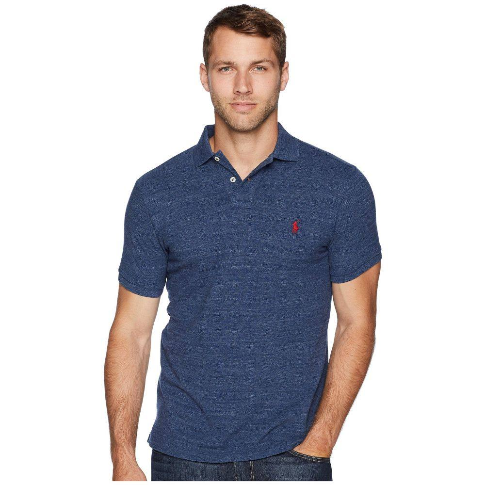 ラルフ ローレン Polo Ralph Lauren メンズ ポロシャツ トップス【Slim Fit Pique Polo】Classic Royal Heather