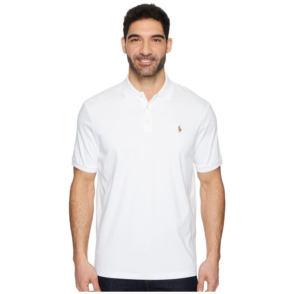 ラルフ ローレン Polo Ralph Lauren メンズ ポロシャツ トップス【Soft Touch Polo】White