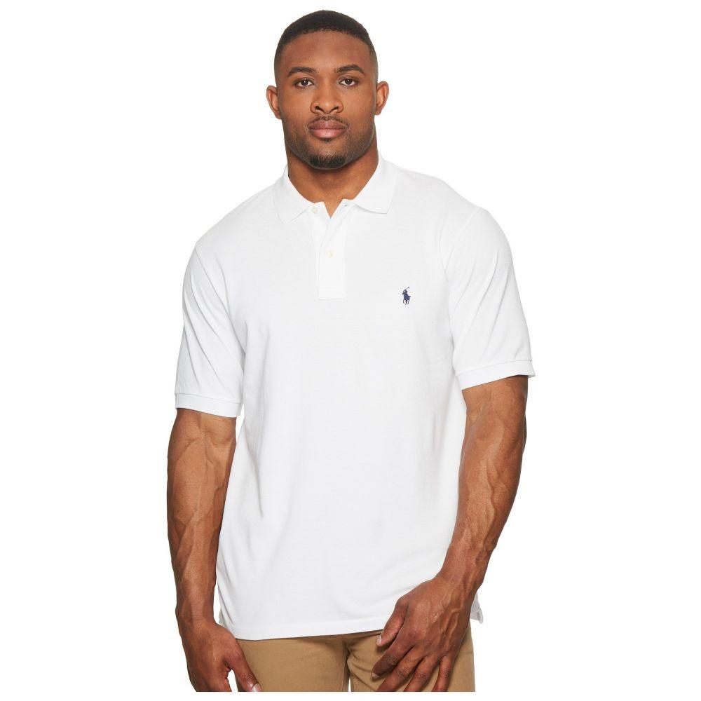 ラルフ ローレン Polo Ralph Lauren Big & Tall メンズ ポロシャツ 大きいサイズ トップス【Big and Tall Classic Fit Mesh Polo】White