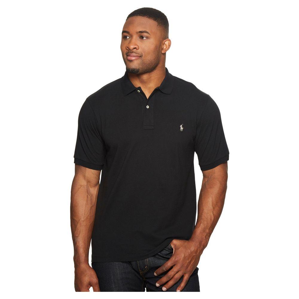 ラルフ ローレン Polo Ralph Lauren Big & Tall メンズ ポロシャツ 大きいサイズ トップス【Big and Tall Classic Fit Mesh Polo】Polo Black