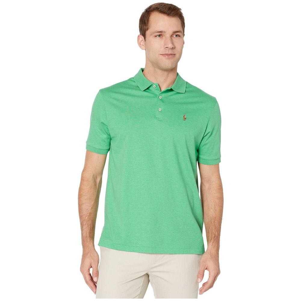 ラルフ ローレン Polo Ralph Lauren メンズ ポロシャツ トップス【Classic Fit Soft Touch Polo】Palm Green Heather