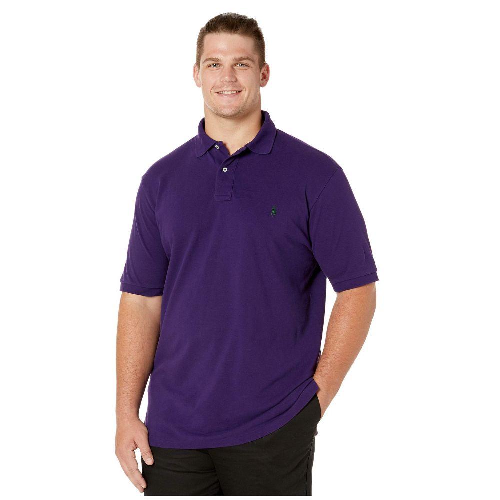 ラルフ ローレン Polo Ralph Lauren Big & Tall メンズ ポロシャツ 大きいサイズ 半袖 トップス【Big & Tall Basic Mesh Short Sleeve Classic Fit Polo】Branford Purple