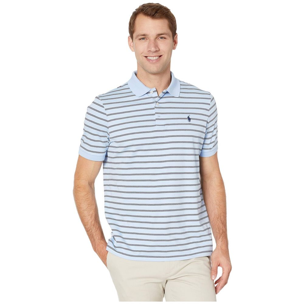 ラルフ ローレン Polo Ralph Lauren メンズ ポロシャツ 半袖 トップス【Soft Touch Pima Polo Short Sleeve Classic Fit】Elite Blue Multi