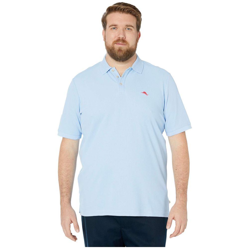 トミー バハマ Tommy Bahama Big & Tall メンズ ポロシャツ 大きいサイズ トップス【Big & Tall Emfielder 2.0 Polo】Light Sky