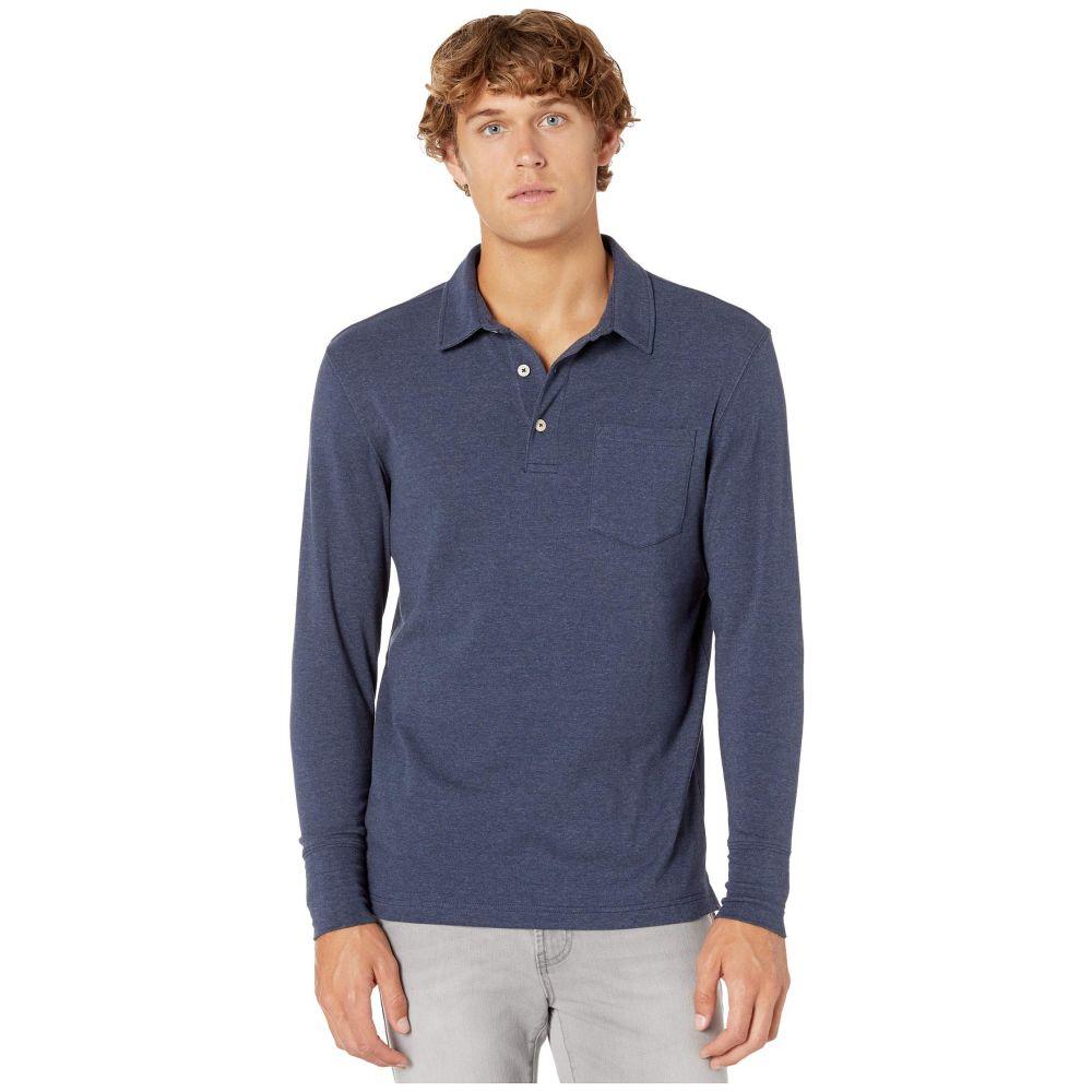 ノーマルブランド The Normal Brand メンズ ポロシャツ トップス【Puremeso Polo】Navy