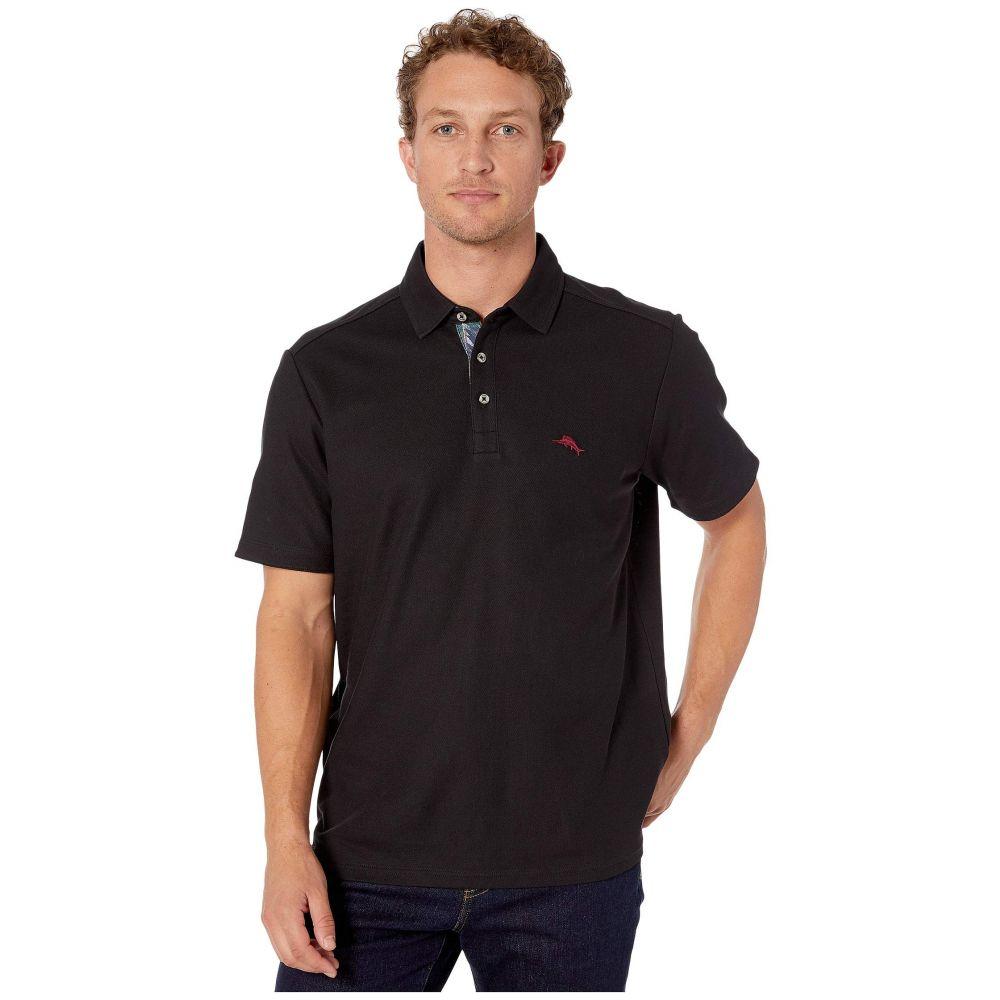 トミー バハマ Tommy Bahama メンズ ポロシャツ 半袖 トップス【Ltd Ed 5 O'Clock Polo Short Sleeve】Black
