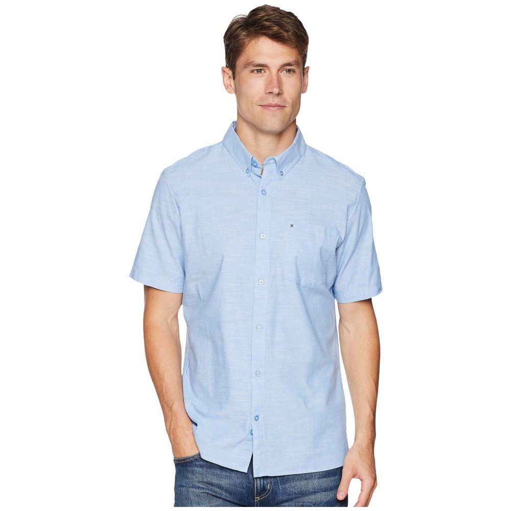 ハーレー Hurley メンズ 半袖シャツ トップス【One & Only 2.0 Short Sleeve Woven】Blue Oxford