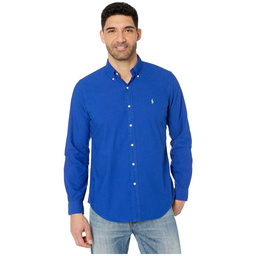 ラルフ ローレン Polo Ralph Lauren メンズ シャツ トップス【Classic Fit Long Sleeve Oxford Shirt】Heritage Royal
