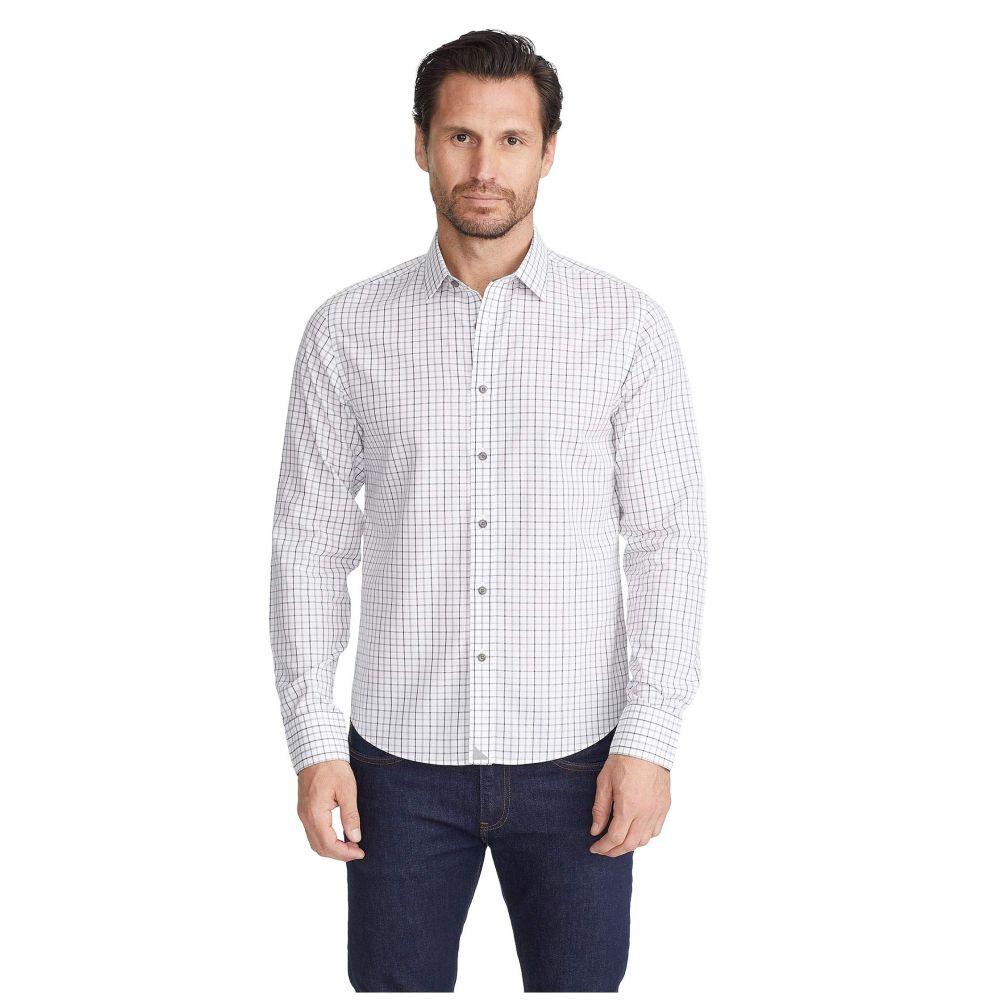 アンタックイット UNTUCKit メンズ シャツ トップス【Wrinkle-Free Seiler Shirt】White/Grey
