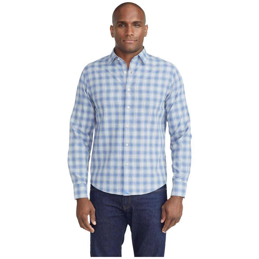 アンタックイット UNTUCKit メンズ シャツ フランネルシャツ トップス【Lightweight Flannel Cantenac Shirt】Grey