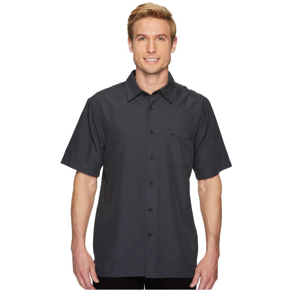 クイックシルバー Quiksilver Waterman メンズ 半袖シャツ トップス【Centinela 4 Short Sleeve Shirt】Black