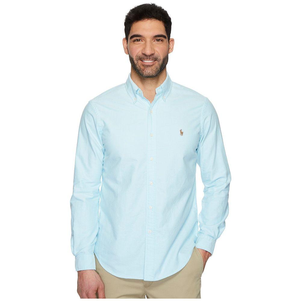 ラルフ ローレン Polo Ralph Lauren メンズ シャツ トップス【Standard Fit Oxford Sport Shirt】Aegean Blue
