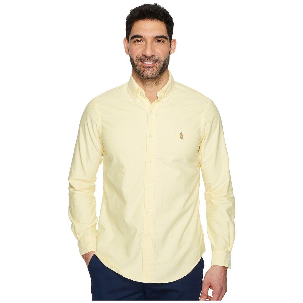 ラルフ ローレン Polo Ralph Lauren メンズ シャツ トップス【Standard Fit Oxford Sport Shirt】Yellow