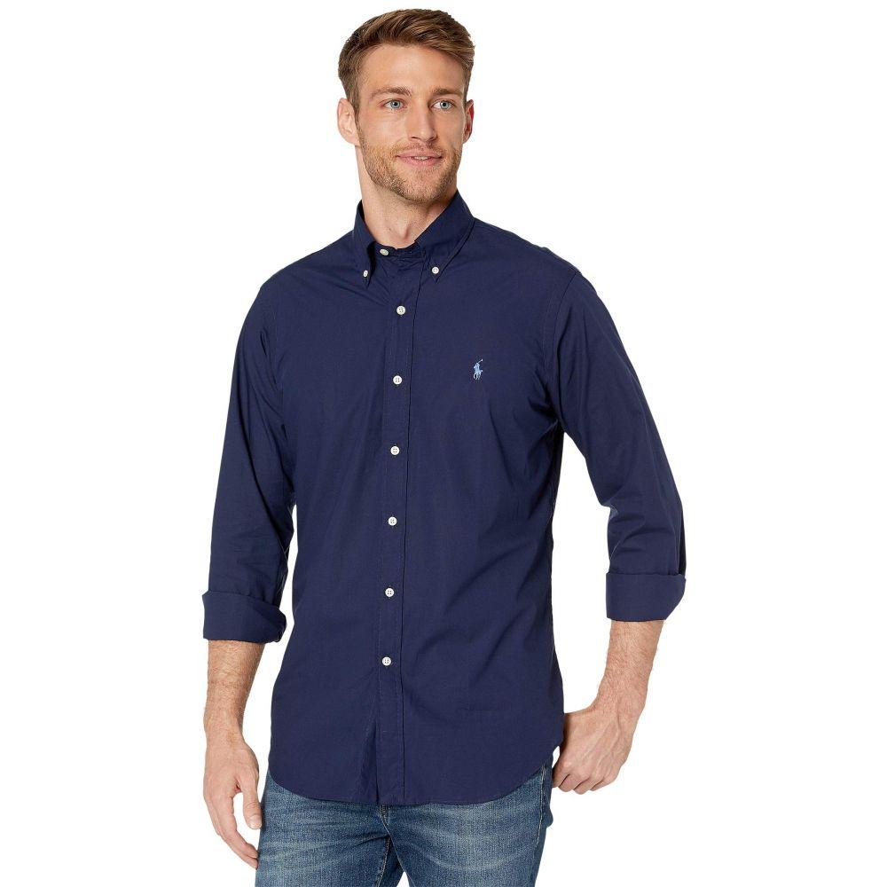ラルフ ローレン Polo Ralph Lauren メンズ シャツ トップス【Poplin Sport Shirt】Newport Navy