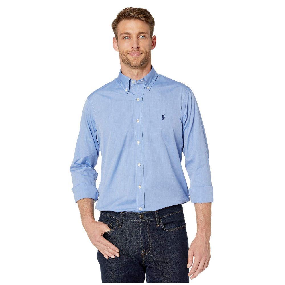 ラルフ ローレン Polo Ralph Lauren メンズ シャツ トップス【Poplin Sport Shirt】Blue End on End