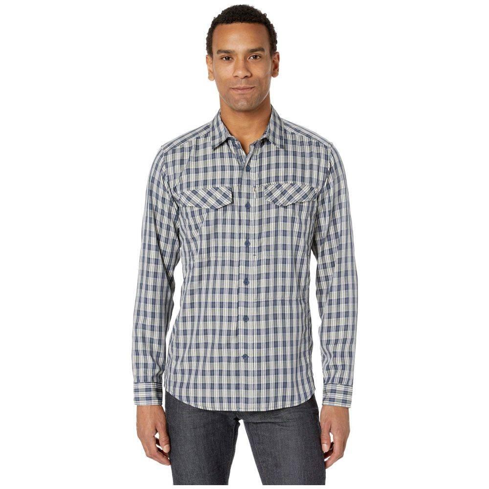 ロイヤルロビンズ Royal Robbins メンズ シャツ トップス【Bug Barrier(TM) Ultra Light Long Sleeve Shirt】Navy