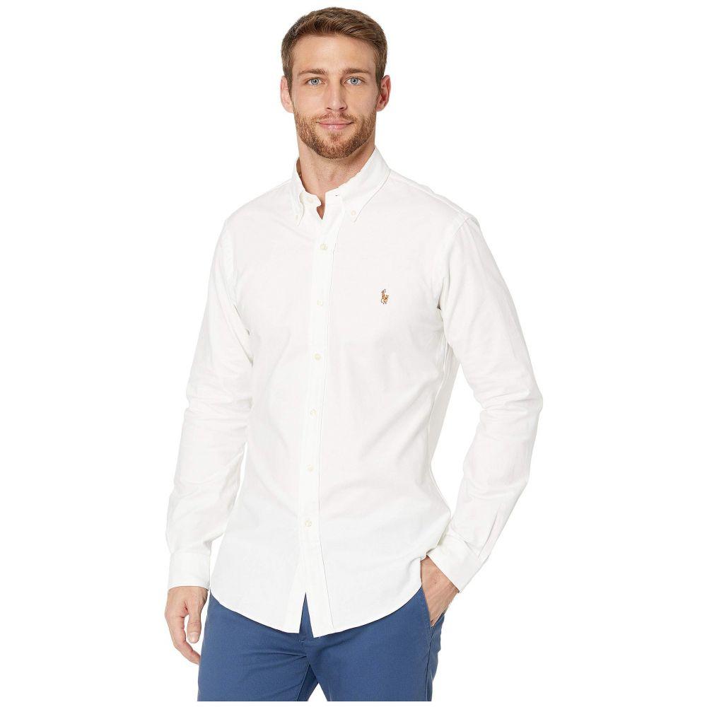 ラルフ ローレン Polo Ralph Lauren メンズ シャツ トップス【Stretch Fit Oxford Sport Shirt】Bsr White