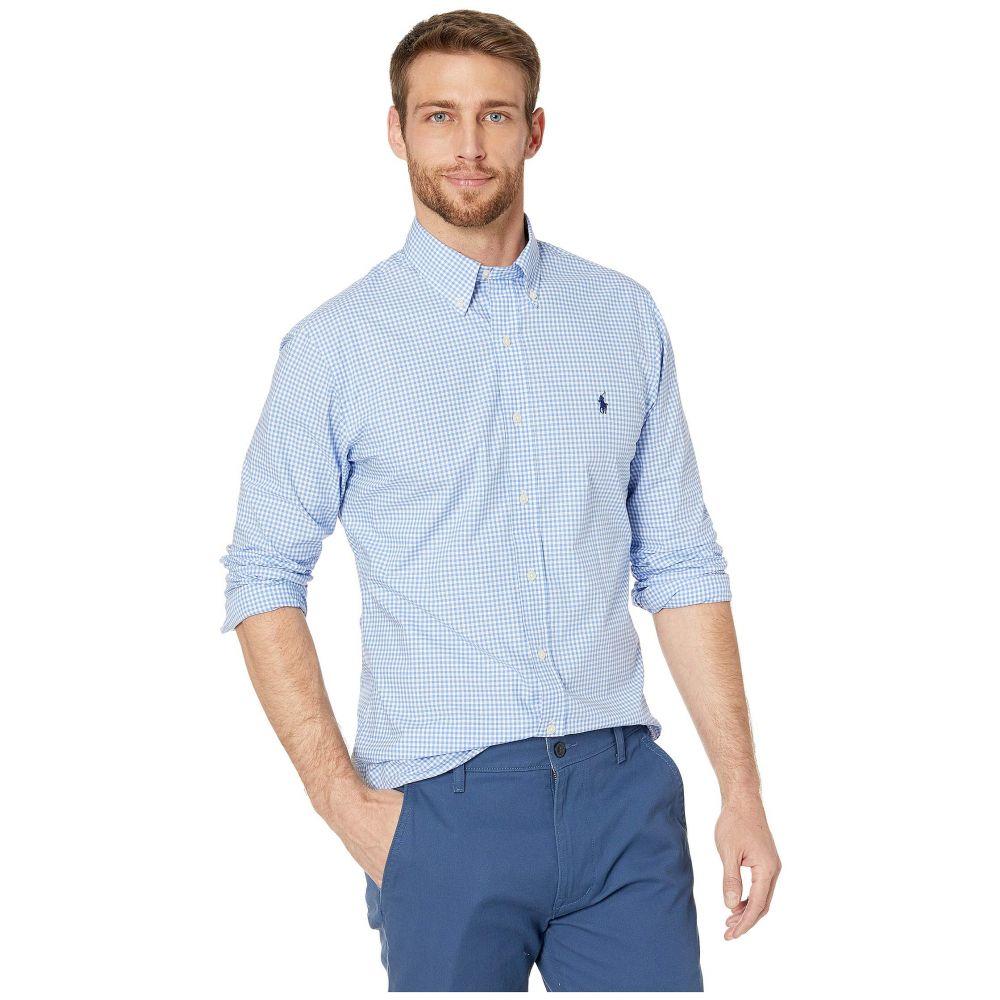 ラルフ ローレン Polo Ralph Lauren メンズ シャツ トップス【Slim Fit Poplin Sports Shirt】Blue/White Check