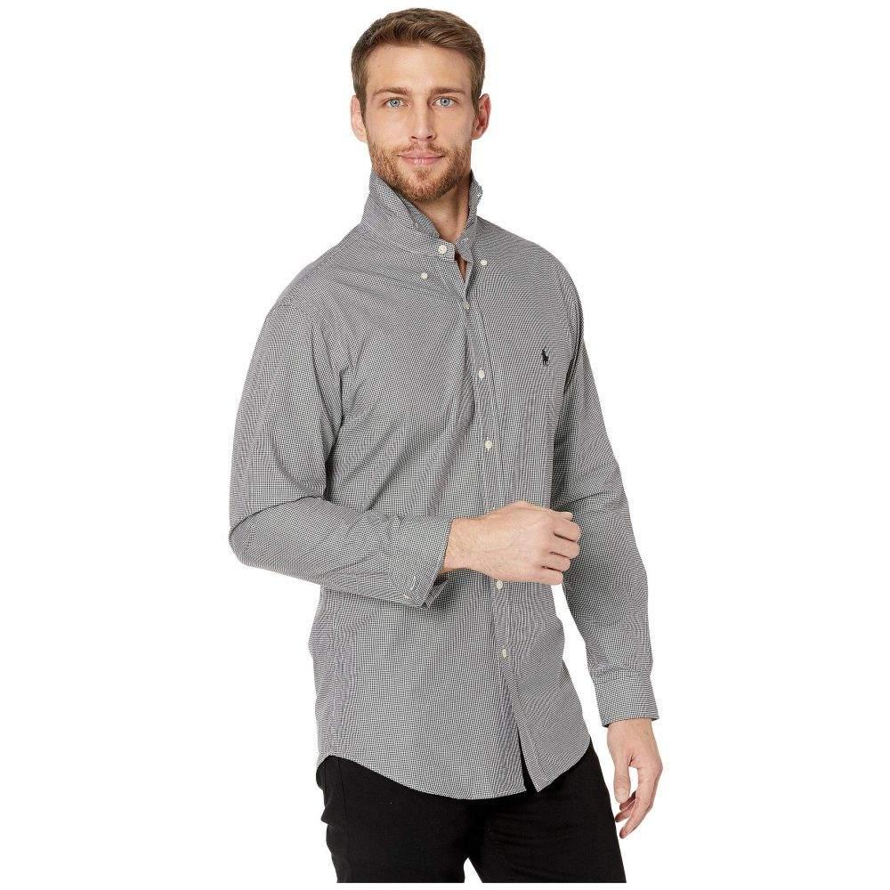 ラルフ ローレン Polo Ralph Lauren メンズ シャツ トップス【Slim Fit Poplin Sports Shirt】Black/White Check