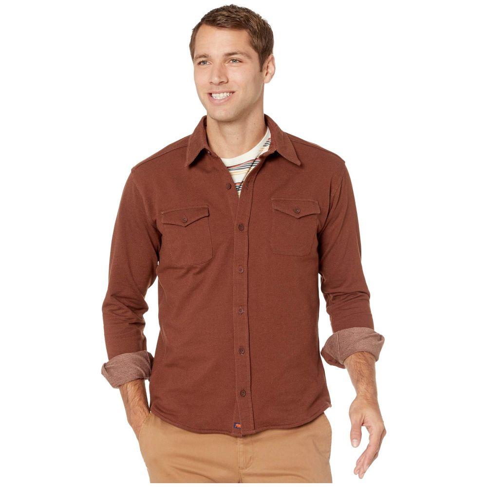 ノーマルブランド The Normal Brand メンズ シャツ トップス【Knit Workman】Brown
