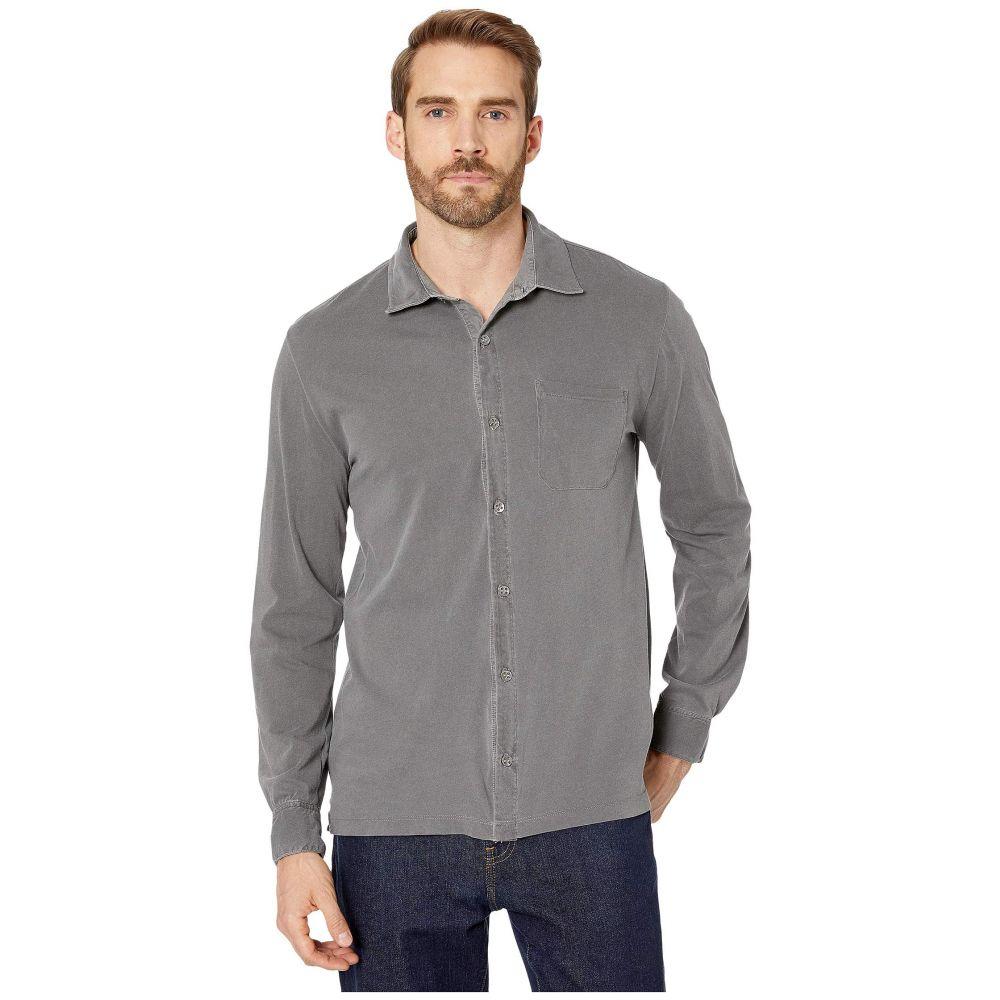 モドオードック Mod-o-doc メンズ シャツ トップス【Santa Monica Long Sleeve Button Front Shirt】Charcoal