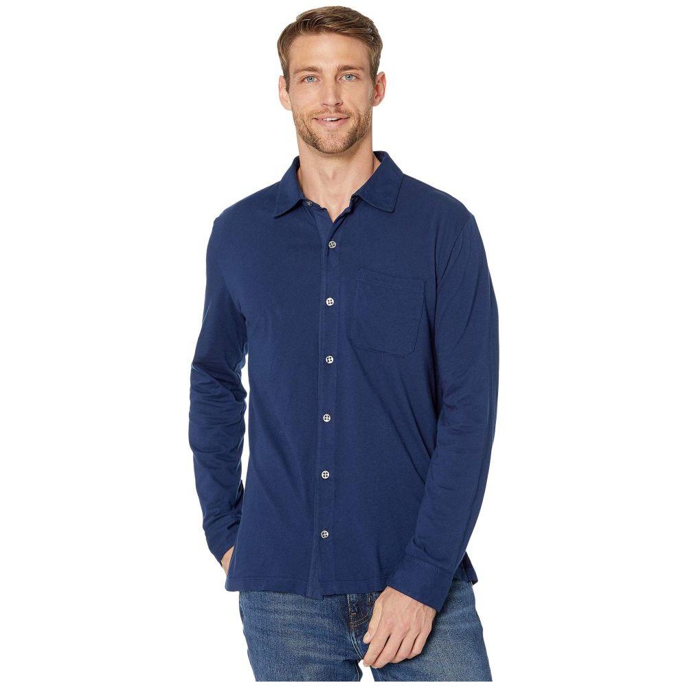モドオードック Mod-o-doc メンズ シャツ トップス【Santa Monica Long Sleeve Button Front Shirt】Naval