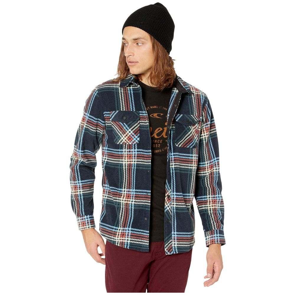 オニール O'Neill メンズ シャツ トップス【Glacier Plaid Shirt】Dark Navy