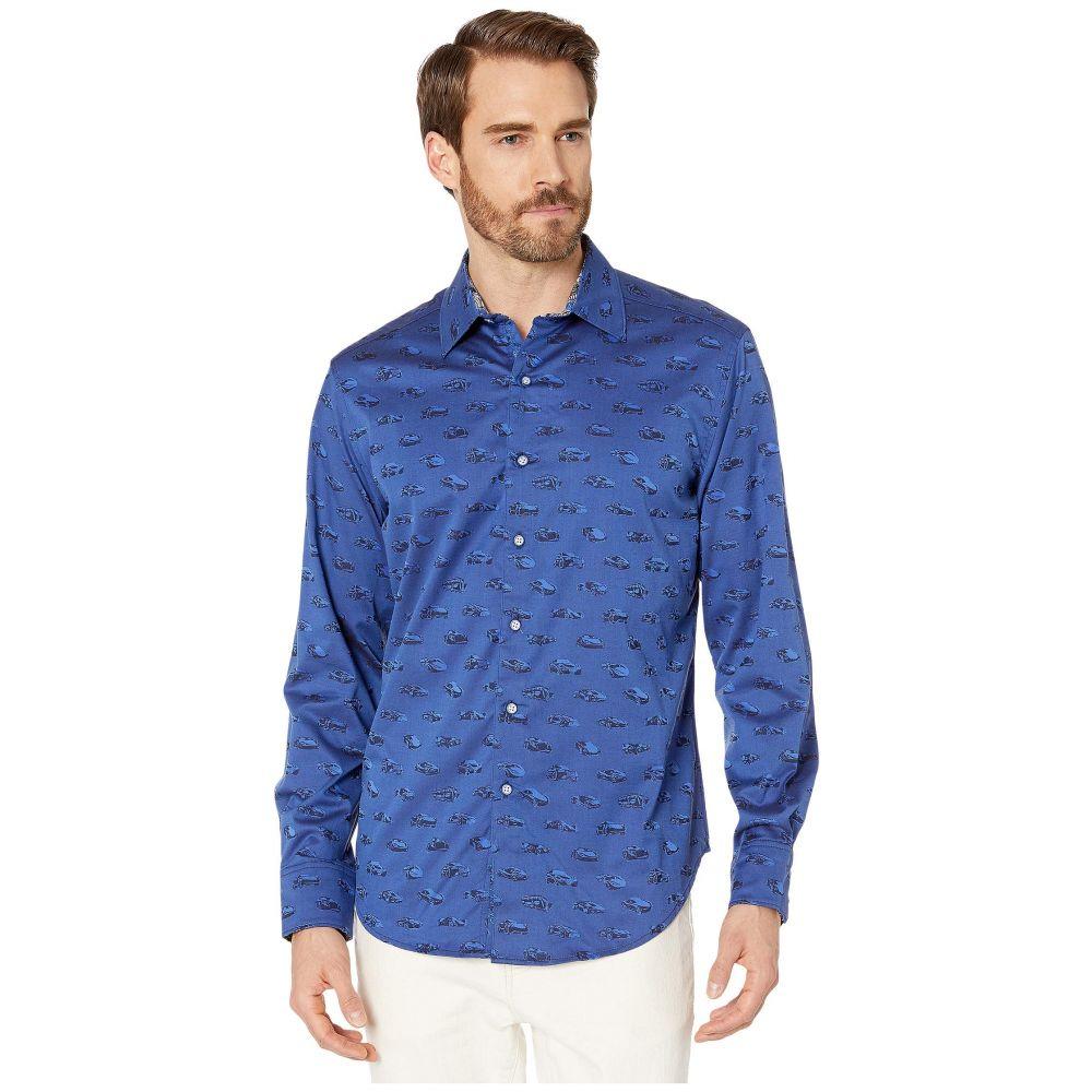 ロバートグラハム Robert Graham メンズ シャツ トップス【Winners Circle Sport Shirt】Sapphire