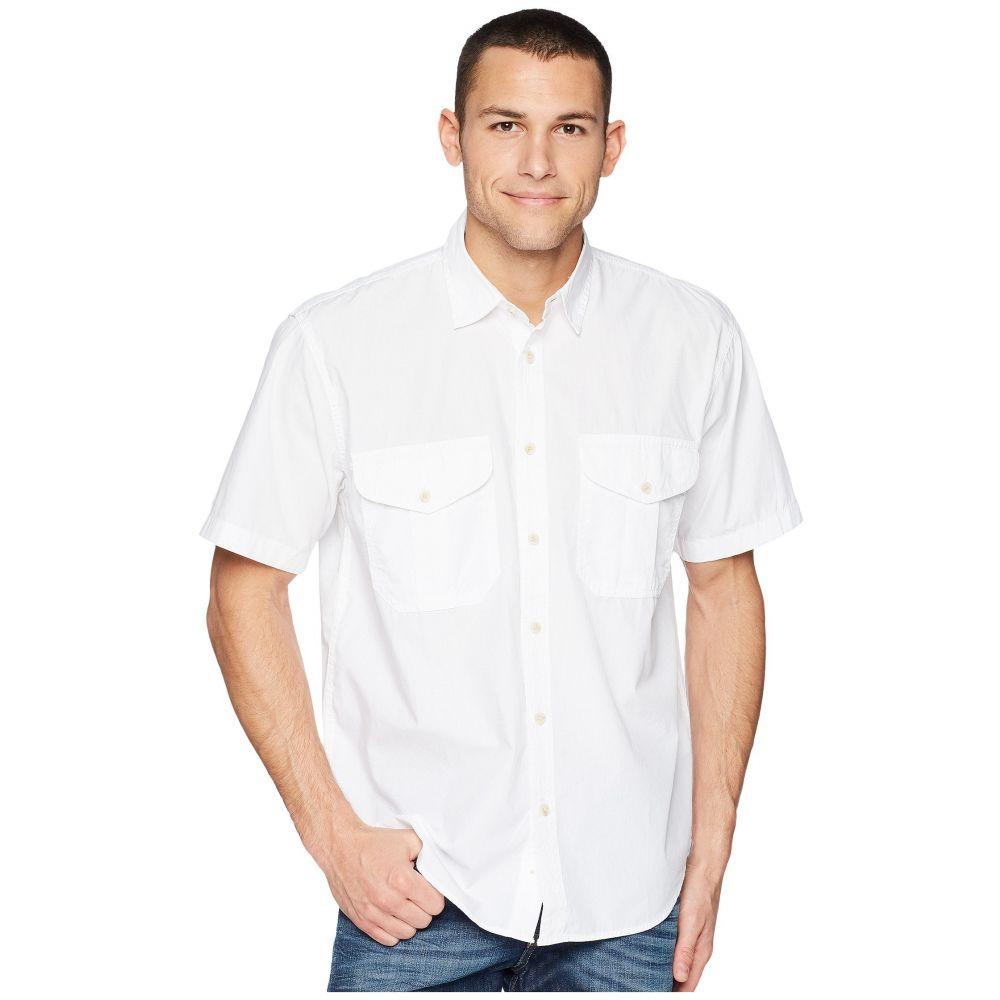 フィルソン Filson メンズ 半袖シャツ トップス【Short Sleeve Feather Cloth Shirt】White